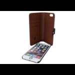 "Tactus OW001 4.7"" Wallet case Black,Tan mobile phone case"