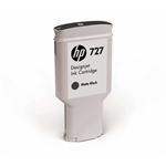 HP 727 matzwarte DesignJet inktcartridge, 300 ml