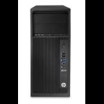HP Z240 MT Intel® Xeon® E3 v5 E3-1225V5 8 GB DDR4-SDRAM 1000 GB HDD Tower Black Workstation Windows 7 Professional