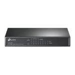 TP-LINK TL-SG1008P network switch Gigabit Ethernet (10/100/1000) Power over Ethernet (PoE) Hazelnut