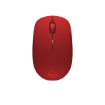 DELL WM126 mice RF Wireless Optical 1000 DPI Ambidextrous Red