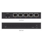 Ubiquiti Networks EdgeRouter X 5 port Switch AU PoE SFP AU Power Supply