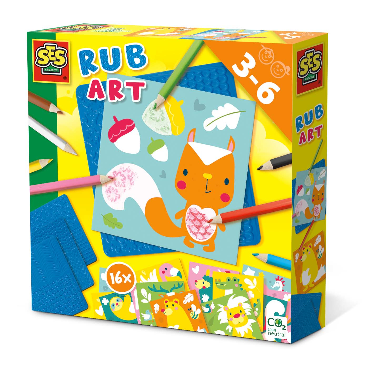 SES Creative Rub art