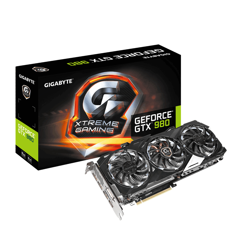 Gigabyte NVIDIA GeForce GTX 980 4GB GDDR5 NVIDIA GeForce GTX 980 4GB