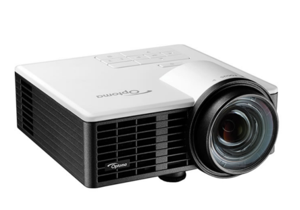 Optoma ML750ST data projector Portable projector 800 ANSI lumens DLP WXGA (1280x720) 3D Black, White