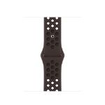 Apple MJ6J3ZM/A smartwatch accessory Band Schwarz, Braun Fluor-Elastomer