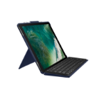 Logitech Slim Combo mobile device keyboard Blau QWERTZ Schweiz Smart Connector