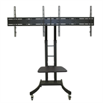 "Newstar PLASMA-M2000ED 70"" Portable flat panel floor stand Black flat panel floorstand"