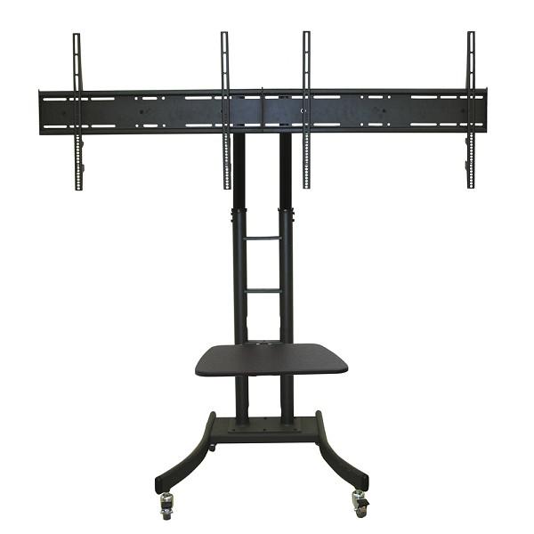 """Newstar PLASMA-M2000ED 70"""" Portable flat panel floor stand Black flat panel floorstand"""