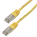 MCL CAT 5E F/UTP 5m cable de red Cat5e F/UTP (FTP) Amarillo