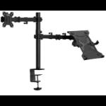 "VonHaus 3000114 flat panel desk mount 81.3 cm (32"") Clamp Black"