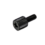 StarTech.com 6-32, 5/16in Long Black Metal Computer Case Thumbscrew – Pkg of 50