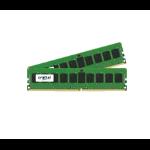 Crucial 16 GB x 2 DDR4-2400 16GB DDR4 2400MHz ECC memory module