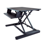 "StarTech.com Sit Stand Desk Converter - With 35"" Work Surface"