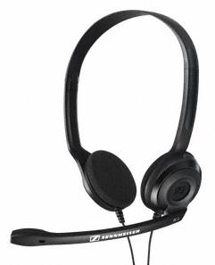 Sennheiser PC 3 Chat Binaural Head-band Black