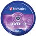 Verbatim DVD+R Matt Silver