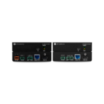 Atlona AT-UHD-EX-70C-KIT AV extender AV transmitter & receiver Black