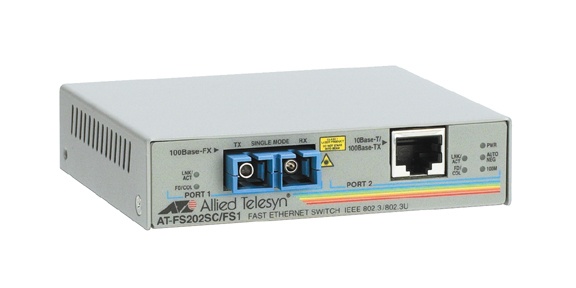 Allied Telesis AT-FS202 100Mbit/s network media converter
