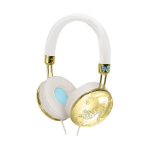 KIDdesigns CN-M48.FX Gold,White Circumaural Head-band headphone