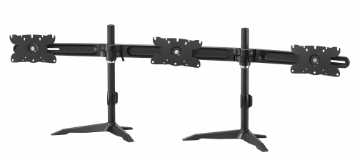 Triple Monitor Stand Max 32in Lcd/led