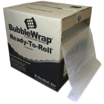 SEALED AIR AIRLITE AL BUBBLE WRAP 40CM PERFORATED READY TO ROLL 340MM X 50M CLEAR