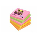 Post-It 654S-N self-adhesive label Multicolor 5 pc(s)