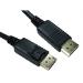 Cables Direct 99DP-001LOCK DisplayPort cable 1 m Black