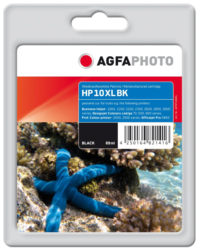 Compatible Inkjet Cartridge - Hp Black No 10xl
