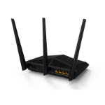 Tenda AC18 wireless router Dual-band (2.4 GHz / 5 GHz) Gigabit Ethernet Black
