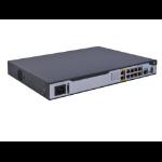 Hewlett Packard Enterprise MSR1003-8S AC wired router Gigabit Ethernet Black
