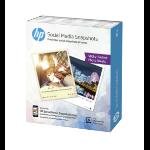HP Social Media Snapshots photo paper White
