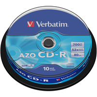Verbatim CD-R Extra Protection CD-R 700MB 10pc(s)