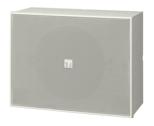 TOA BS-678 loudspeaker 6 W White Wired
