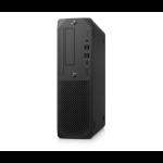 HP Z2 SFF G5 DDR4-SDRAM i7-10700K Small Desktop Intel® 10de generatie Core™ i7 16 GB 512 GB SSD Windows 10 Pro for Workstations Mini PC Zwart