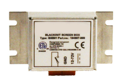 Honeywell Screen Blanking Switch Box serial switch box Wired