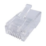 CONNEkT Gear 31-2001 wire connector RJ-45 Transparent,White