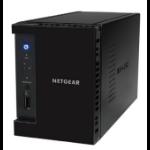 NETGEAR ReadyNAS 212 MEDIA HUB - 2 bay Consumer Desktop NAS (Diskless)