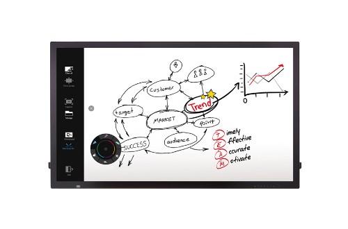 "LG 55TC3D interactive whiteboard 139.7 cm (55"") Touchscreen 1920 x 1080 pixels Black USB"