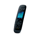 Logitech Harmony Ultimate Wired push buttons Black remote control