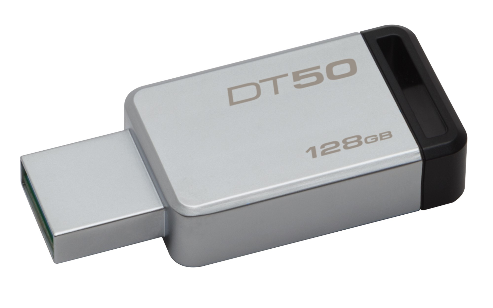 Kingston Technology DataTraveler 50 128GB USB flash drive USB Type-A 3.0 (3.1 Gen 1) Black,Silver