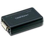 Trendnet USB to DVI/VGA Adapter USB 2.0 1x DVI-I, 1x VGA Black