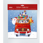 Memorex XMAS ADVENT CALENDAR SANTAS VAN 280X280MM(EACH)