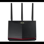 ASUS RT-AX86U wired router 2.5 Gigabit Ethernet, 5 Gigabit Ethernet Black