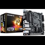 Gigabyte H370N WIFI LGA1151 8Gen mini ITX MB 2xDDR4 1xPCIe HDMI DP 2xM.2 4xSATA3 RAID 2xIntel GbE LAN WIFI BT