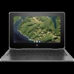"HP Chromebook x360 11 G2, 11.6"" HD Touch, Celeron N4000, 4GB, 32GB eMMC, Chrome 64 , Storm Gray, 1Yr RT"