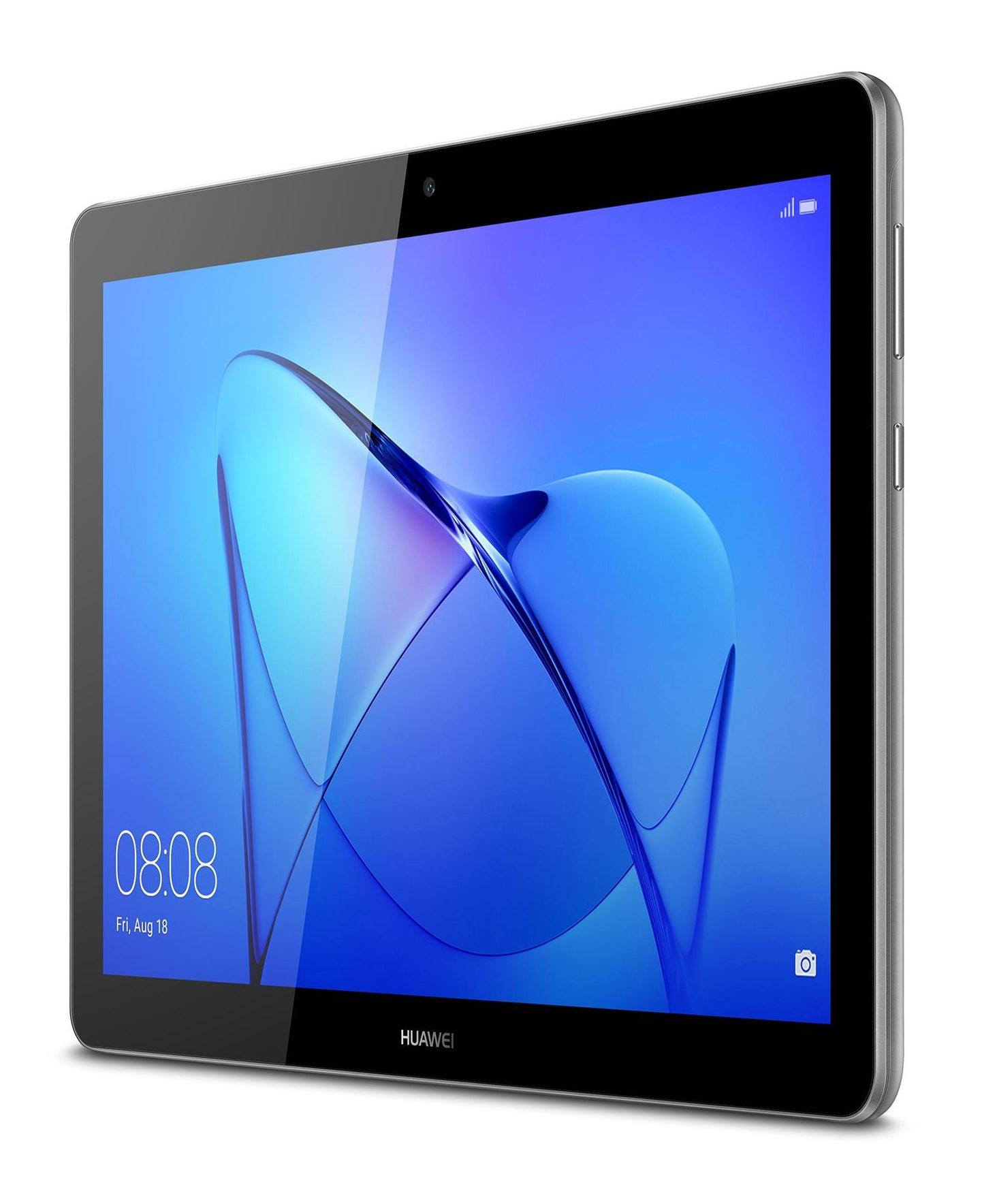 "Huawei MediaPad T3 24.4 cm (9.6"") Qualcomm Snapdragon 2 GB 16 GB Wi-Fi 4 (802.11n) Gray"