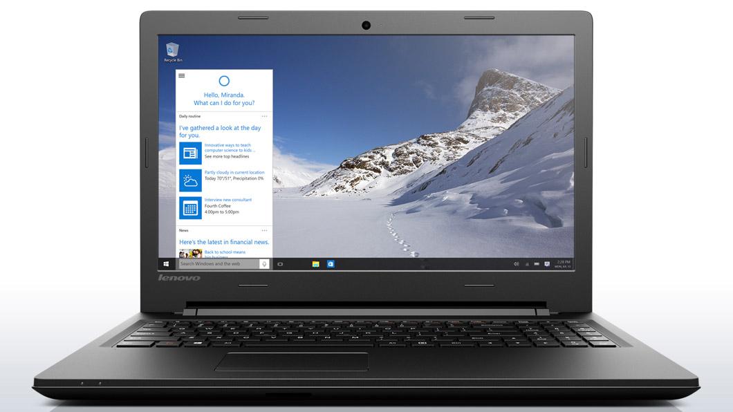 "Lenovo Essential B50-50 2GHz i3-5005U 15.6"" 1366 x 768pixels Black"