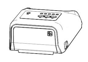 Zebra P1080383-205 pieza de repuesto de equipo de impresión Cubierta superior 1 pieza(s)