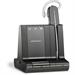 Plantronics Savi W740 Ear-hook Monaural Wireless Black mobile headset