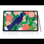 Samsung Galaxy Tab S7+ 4G 128GB Mystic Silver - S-Pen, 12.4' Display, Qualcomm Snapdragon Processor, 13MP Ca